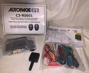 Autopage C3-RS601 NEW In Box, Remote starter