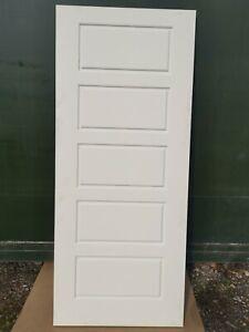 """K3707534 58414 Jewsons Premdor 5 Panel FD30 2'9"""" Fire Door"""