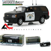 GREENLIGHT 86098 1:43 2012 CHEVROLET TAHOE CALIFORNIA HIGHWAY PATROL