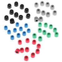 25 Pairs 4.5mm Replacement Eartips Bud Earbud Memory Foam For Earphone