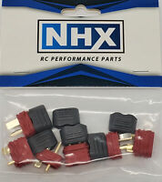 NHX Deans T Plug Adapter Connector Male / Female 3Pairs/Bag
