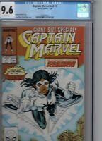 Captain Marvel Comic November 1989 # 1 Giant Sized Special CGC 9.6