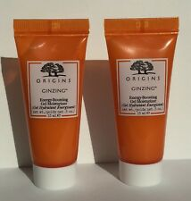 Two Origins Ginzing Energy Boosting Gel Moisturizer .5 oz / 15ml