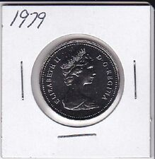 1979 Canada Nickel 50 Cent From Double Dollar Set