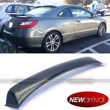 For 06-10 Civic 2dr Coupe Rear Window Roof Sun Rain Shade Vent Visor Spoiler