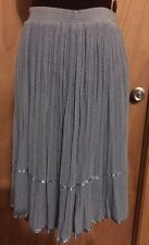 George's Original Design Women's Skirt Blue Size 10 Good Condition