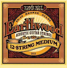 Ernie Ball P02012 Earthwood 12-string Medium Acoustic 80/20 Bronze