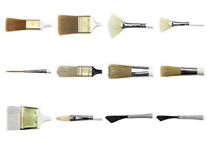Bob Ross Oil Landscape Painting Brush & Knife - Full Range Available - CHOOSE