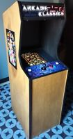 NEW MS PAC-MAN, GALAGA, PACMAN VIDEO ARCADE GAME, 5 YR WARRANTY, FREE SHIP