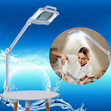 Bright Magnifying Lamp LED 10.7 Inch SMD 5 Diopter magnifier desk light White 5X