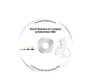 Kelly's (Gore's) Directory of Liverpool & Birkenhead 1900