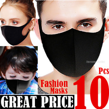 10ps Face Masks Women Men Kids Boy Girls Teen Unisex Clothing Fashion Mask Cloth