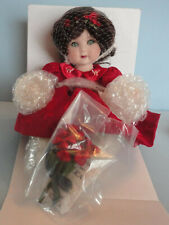 Marie Osmond American Classic Rosebud Tiny Tot with Flowers New in Box with Coa