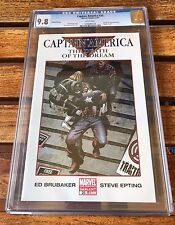 NM/MT Mint  CGC 9.8 2007 Marvel Captain America Comic Book # 25 2nd Printing