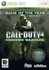 Call of Duty 4 Modern Warfare GOTY (Xbox 360) PAL Xbox One Brand New Case J1L