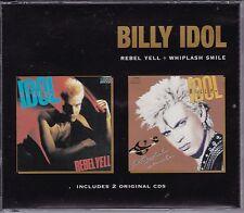 Billy Idol - Rebel Yell / Whiplash Smile **Super Rare 1996 Australian 2 CD Set**