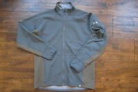 Kuiu Ultralight Hunting Camo Peloton 240 Full Zip Sweatshirt Jacket Large Gray