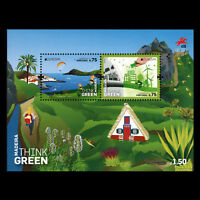 "Madeira 2016 - EUROPA Stamps ""Think Green"" s/s - MNH"
