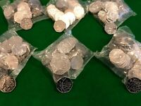 Isle Of Man 2019 Peter Pan 50p Full Set In Sealed Bags, 50 Coins In Each Bag