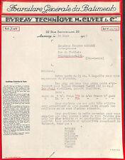 ANNECY COURRIER BUREAU TECHNIQUE CUVET ROBERT AMOLINI THONON 1932