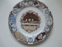 Vintage Artmark Religious Collector Plate Last Supper Made In Japan  10 3/8""