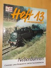 Modell Eisenbahner - Heft 13 - Nebenbahnen