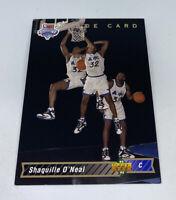 Shaquille Shaq O'Neal 1992-93 Upper Deck Rookie Trade Card #1b Magic