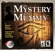 Sherlock Holmes - The Mystery Of The Mummy (PC, 2003)