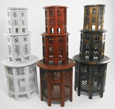 Round Wooden Traditional Side & End Tables