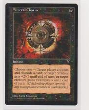 4x Funeral Charm ~ Visions MtG Magic The Gathering  N Mint Black Common