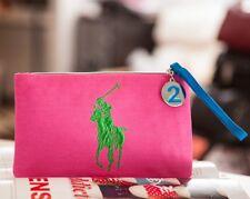 POLO RALPH LAUREN Pink Parfums Cosmetics Bag / Clutch, #2, Brand NEW!