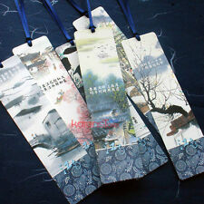 Paper Bookmarks Liquid Ink of South China 6 pieces book markers
