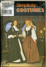 Woman's Celtic Costume Pattern - Sizes 6-12 - Uncut