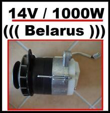 Lichtmaschine 14V / 1000W mit Kabel /  Belarus MTS Ersatzteile Traktor bei Uns