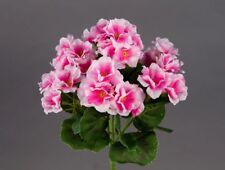 Geranie 26cm rosa -ohne Topf- ZF (Modell 2018) Kunstblumen künstliche Blumen