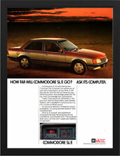 """1982 HOLDEN VH COMMODORE SLE AD A3 FRAMED PHOTOGRAPHIC PRINT 15.7""""x11.8"""""""