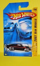 2007 Hot Wheels New Model #004 '69 Ford Mustang - Variant Black