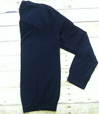 NWT J. Crew Men's Slim merino wool V-neck sweater Item 94230 Sz S Navy Blue