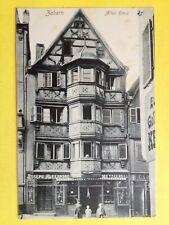 cpa Allemande ZABERN SAVERNE (Bas Rhin) Altes Haus Joseph Alexandre METZGEREI