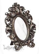 Goth : Alchemy Miroir Victorien Ovale à Fixer ou Poser Gothique