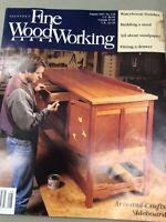Taunton Fine Wood Working Magazine Vintage August 1997 Home Building Hardware