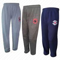 New Prime Mens Fleece Jogging Trousers Tracksuit Bottoms Fitness Exercise Pants