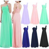Women Long Chiffon Dress Bridesmaid Dress Evening Party Prom Ball Gown Cocktail