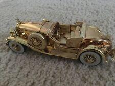 1930 die cast Packard convertible gold