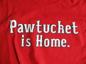 PAWTUCKET IS HOME The Ballpark at Slater Mill (XL) T-Shirt BOSTON RED SOX