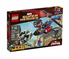 Lego 76016 Marvel Super Heroes SPIDER HELICOPTER RESCUE Spider-Man Power Man NEW