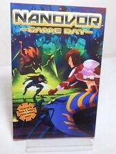 NANOVOR GAME DAY 2010 1st Printing Graphic Novel TPB Burnham Comics Excellent