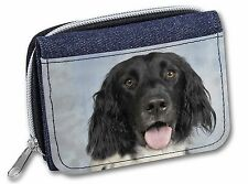 Munsterlander Dog Girls/Ladies Denim Purse Wallet Christmas Gift Idea, AD-ML1JW