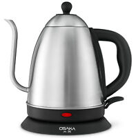 Gooseneck Electric Kettle Stainless Steel Pour Over Coffee Tea Hot Water Kettle