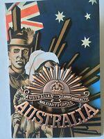 Trench Art *Rising Sun Lapel Pin Large 50mm x 40mm *ANZAC DAY NEW 2016